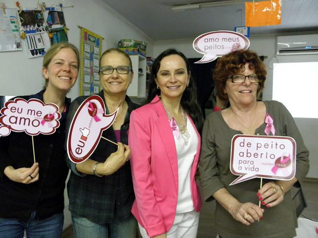 Palestra na Escola Maternal Pingo de Gente