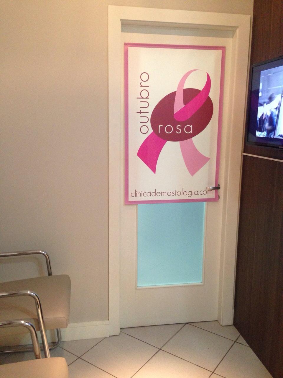 Outubro Rosa na Clínica de Mastologia