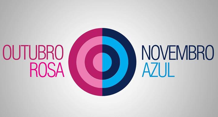OUTUBRO ROSA - NOVEMBRO AZUL