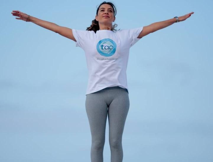 Disposição. Luciana Provenzano praticava exercícios mesmo durante tratamento de câncer – Agência O Globo