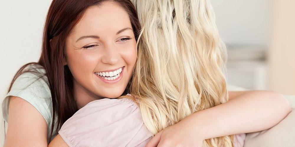 Pratique a terapia do abraço