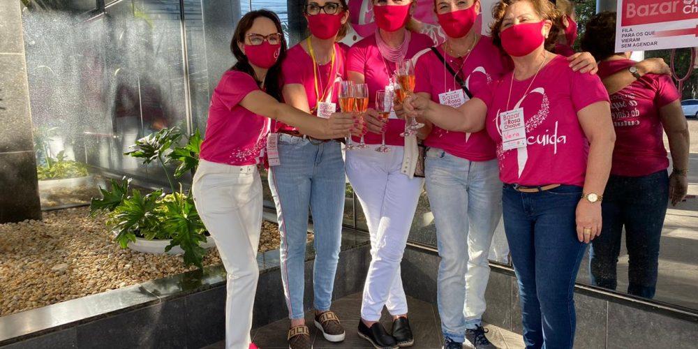 Bazar Rosa choque é sucesso