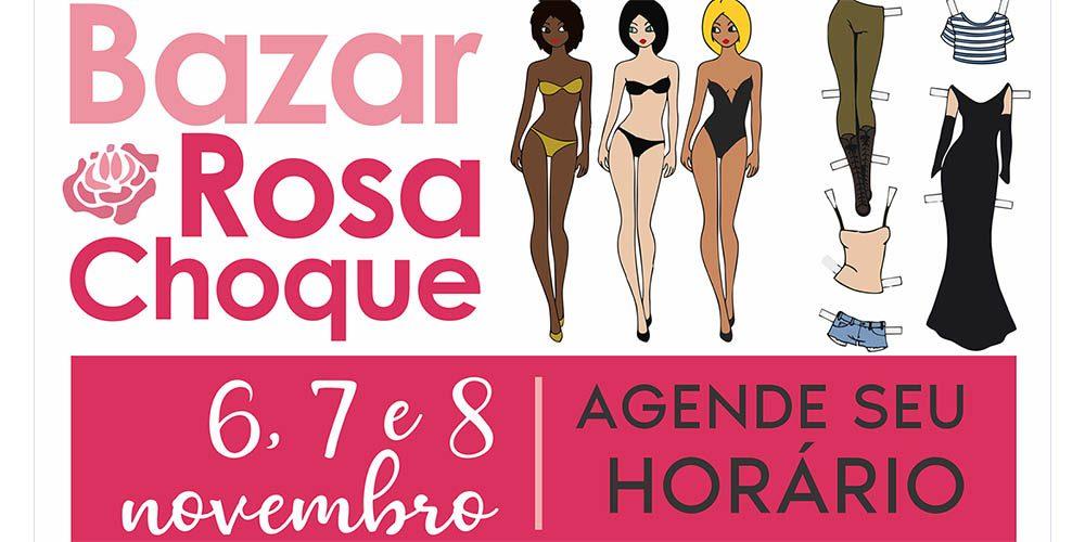 Grupo Vida Rosa prepara Bazar Rosa Choque, para dias 6, 7 e 8 de novembro
