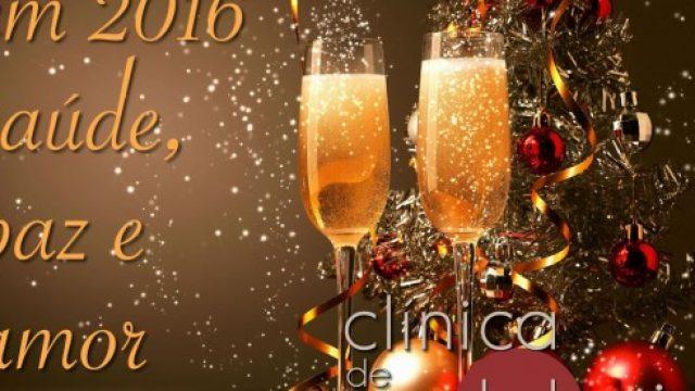Que 2016 venha com saúde e alegria