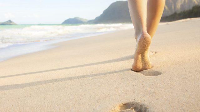 Terapia dos pés descalços